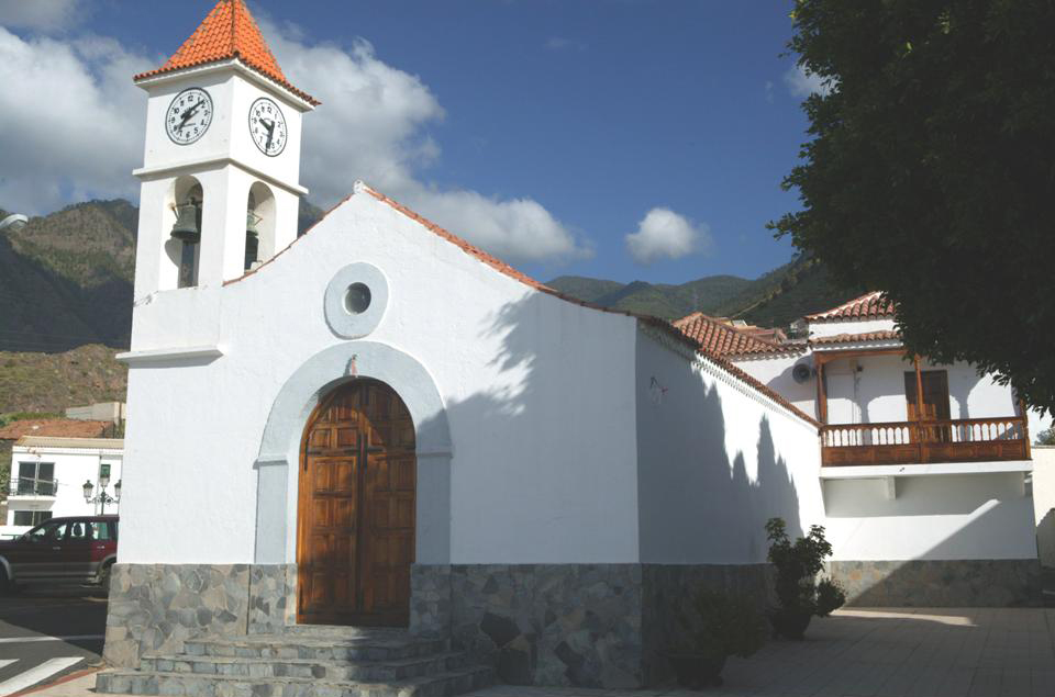 Igueste Candelaria-iglesia
