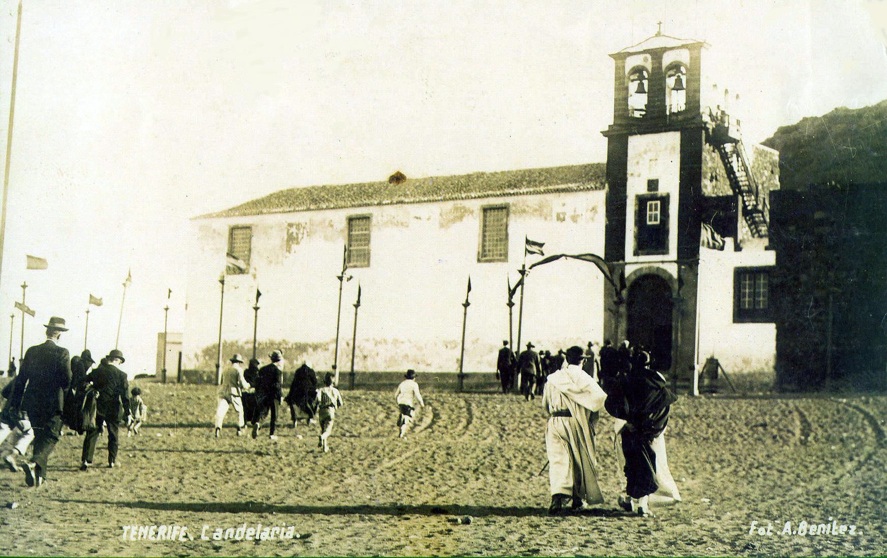 Capilla antigua-fiestas Candelaria