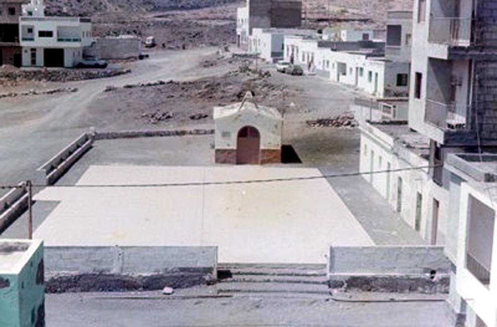 Las Eras-plaza-ermita antigua