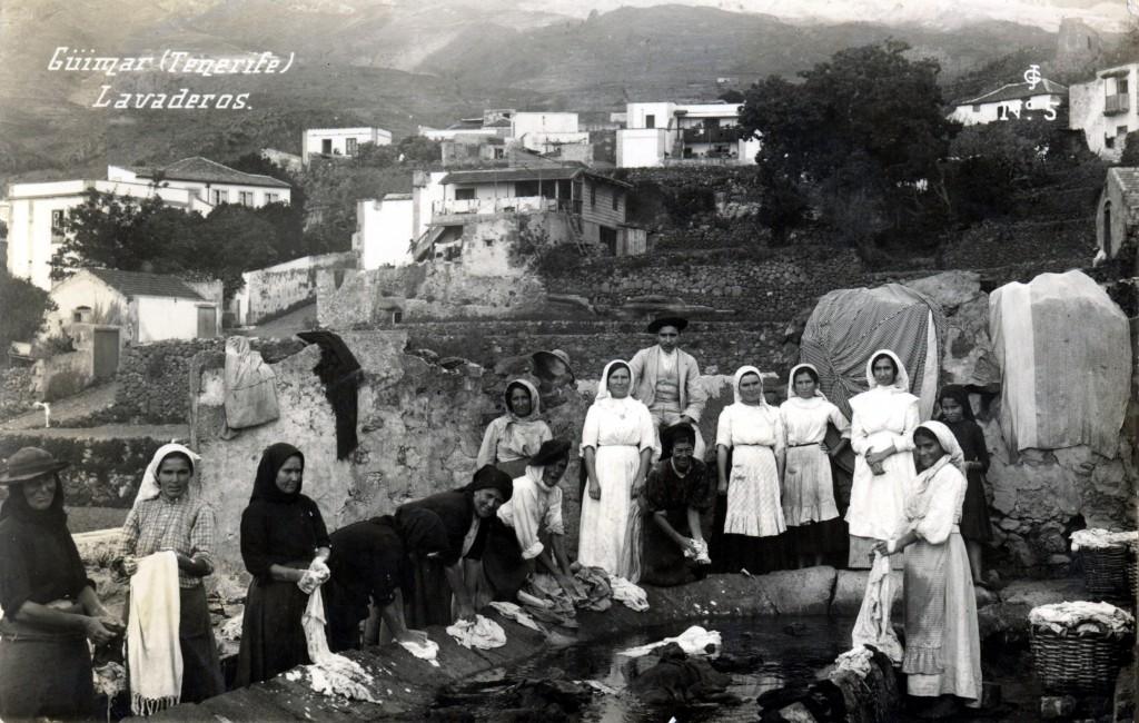 Lavanderas Güímar 1910-1915