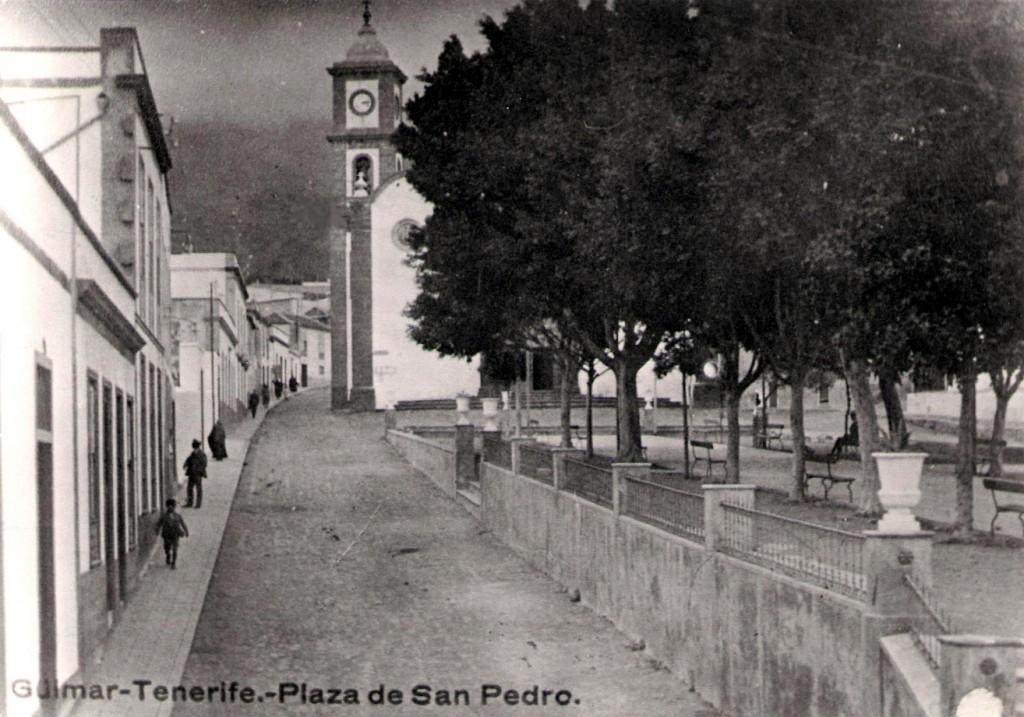 Güímar-lateral Plaza-San Pedro