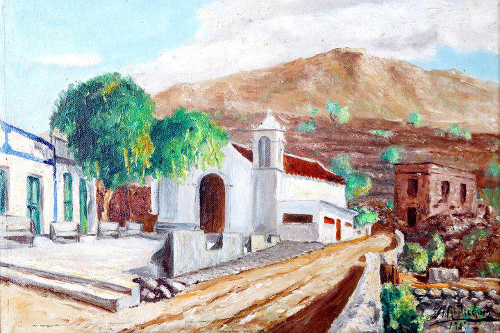 Barranco Hondo-iglesia-cuadro