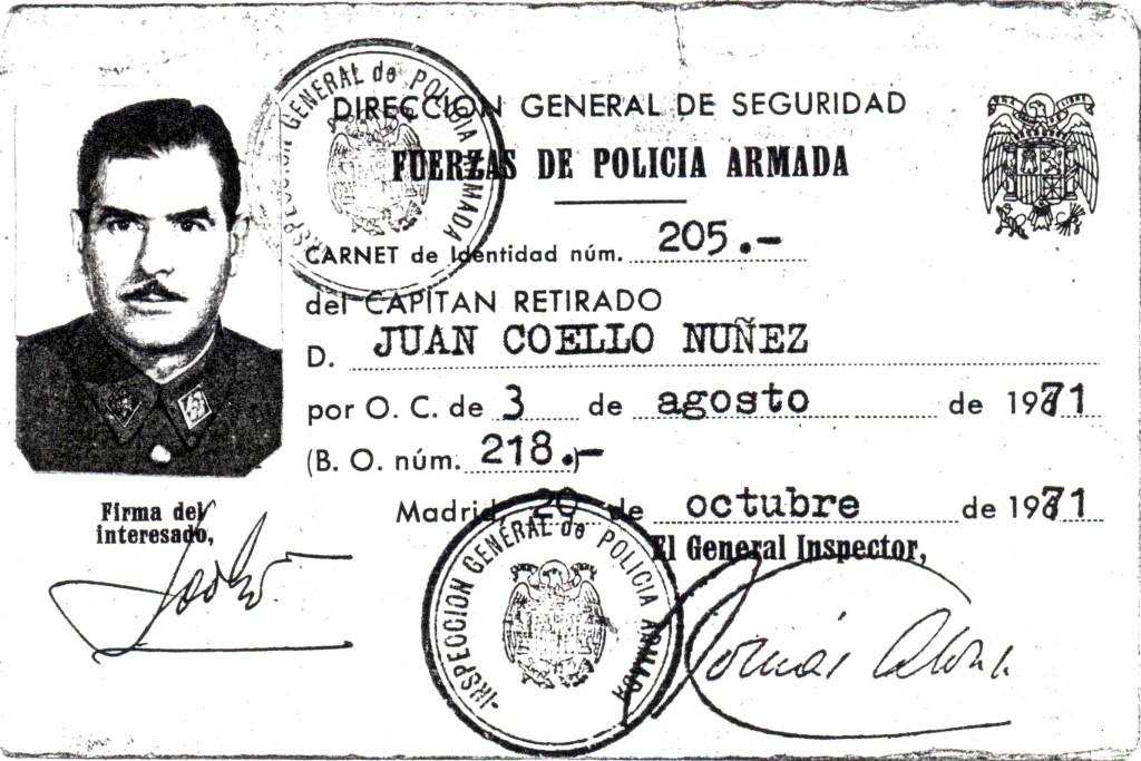 Juan Coello Núñez-carnet