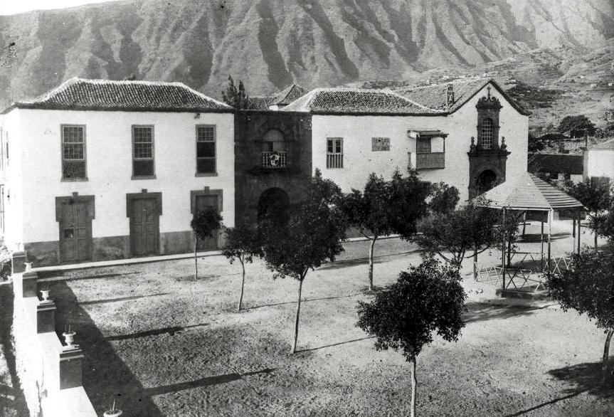Güímar-convento-ayuntamiento