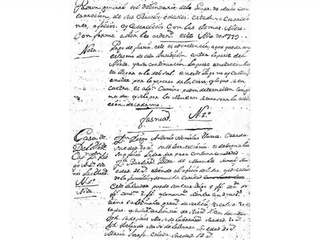 Padrón Arico-1779