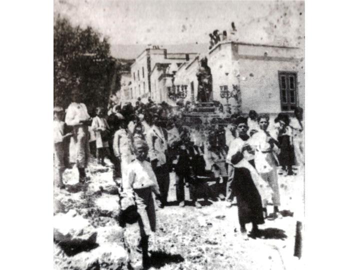 Fasnia-procesión