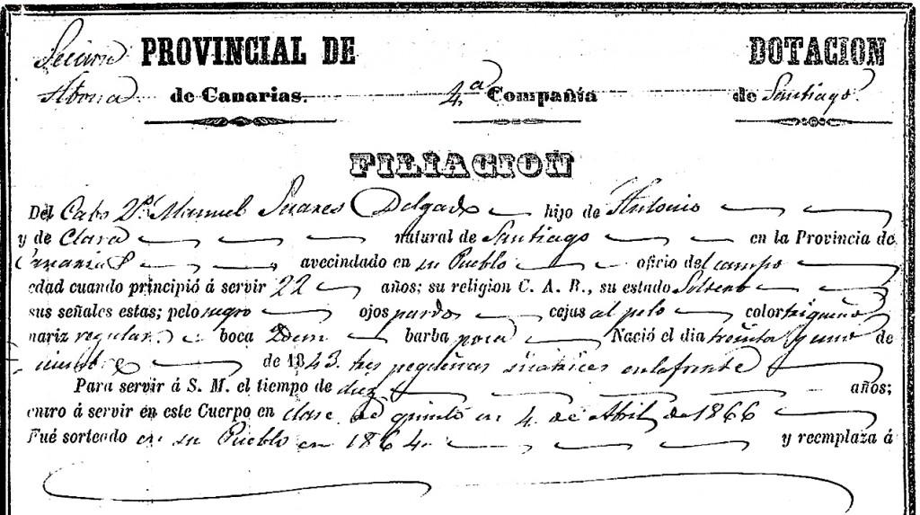 Manuel Suárez Delgado-filiación-2