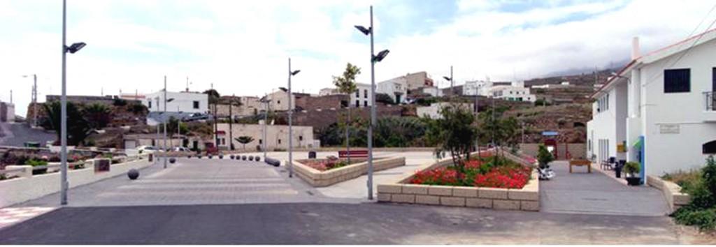 La Sabinita-plaza